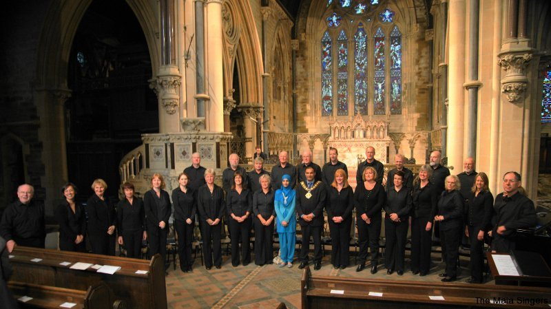 2009 Calderdale Mayor and The Maia Singers