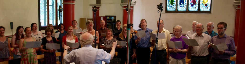 The Maia Singers appearing live on the BBC Radio 4 Daily Service, July 2015